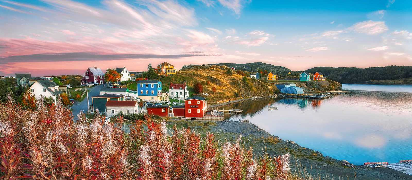 Blick auf die Küste von Trinity, Neufundland und Labrador