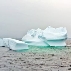 Eisberge im Torngat Mountains National Park