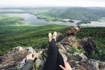 Vom Mount Carleton, gelegen in New Brunswick, hat man einen atemberaubenden Ausblick über die tolle Landschaft die Region.