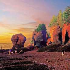 The Hopewell Rocks