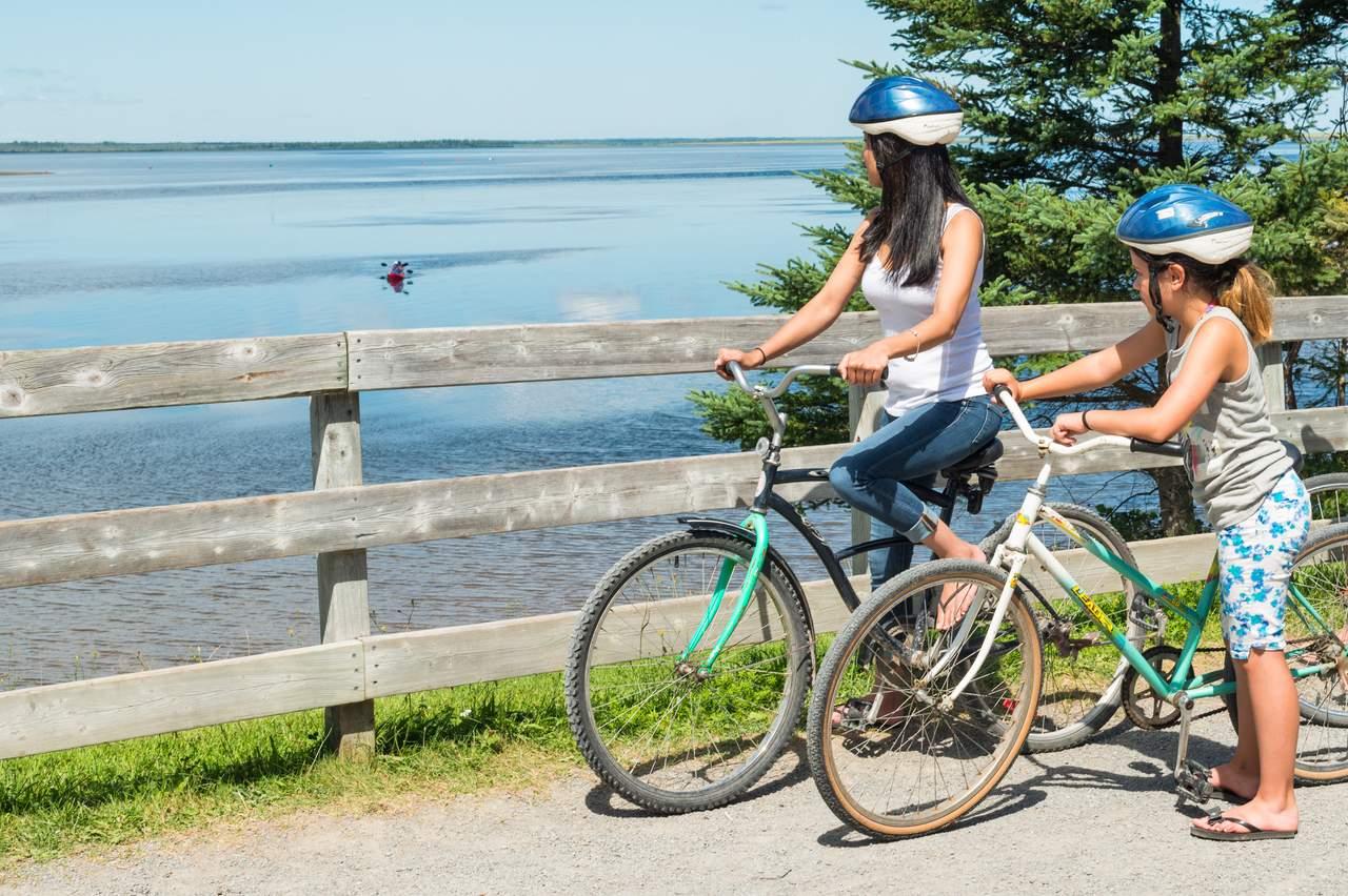 Fahrradtour duch den Kouchibouguac Nationalpark in New Brunswick