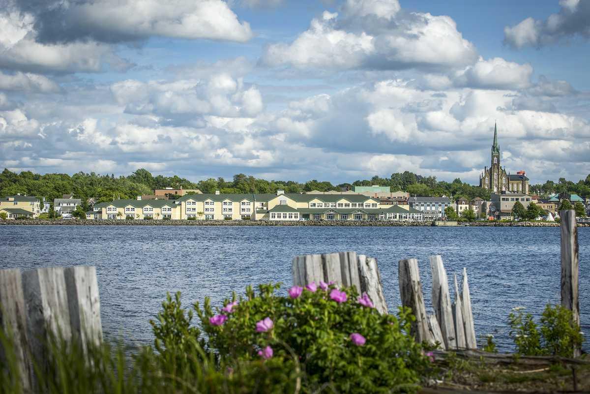 Die Stadt Miramichi in New Brunswick, Kanada