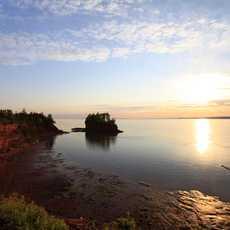 Sunset at Burntcoat Head,