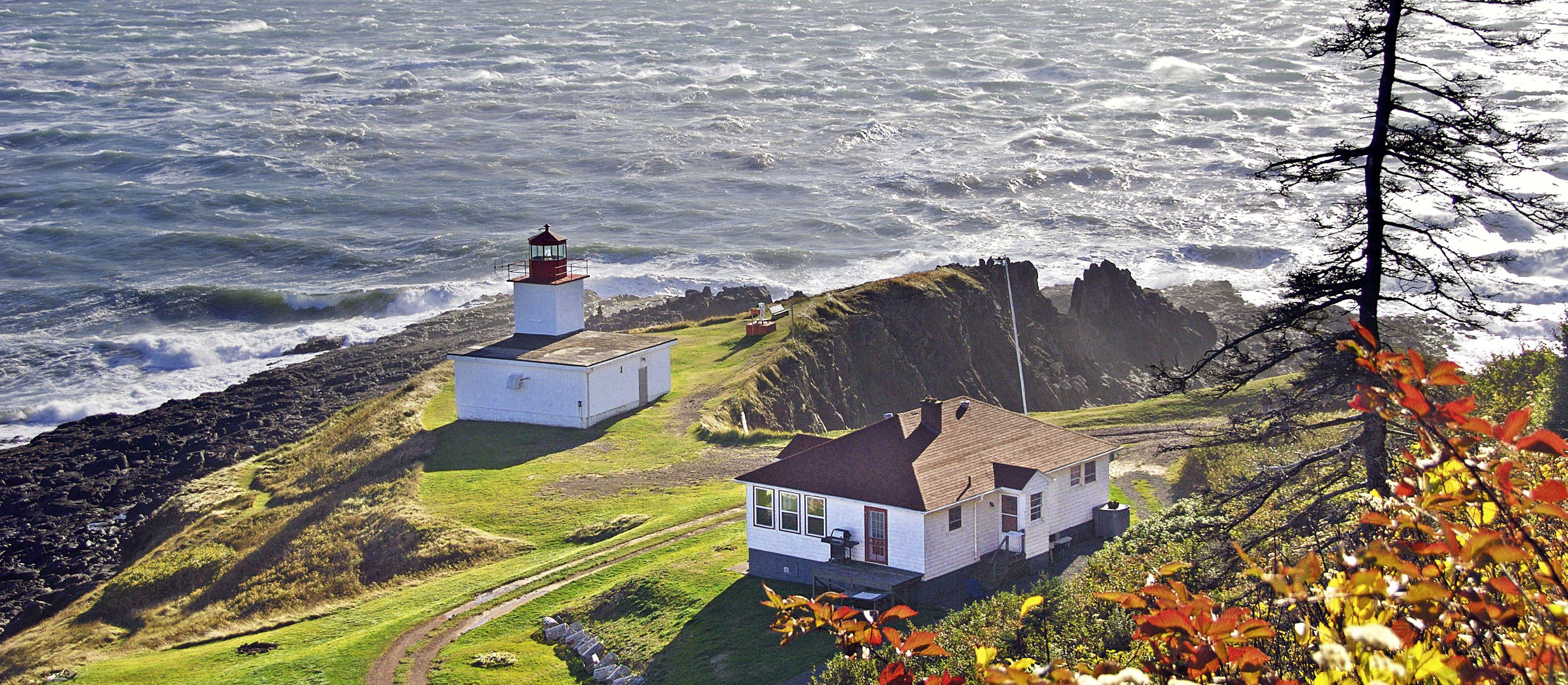 Leuchtturm an der Bay of Fundy