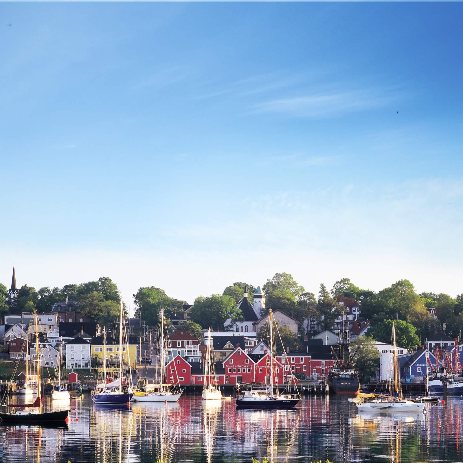 Hafen von Lunenburg, Nova Scotia