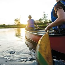 Kanu fahren im Kejimkujik Nationalpark