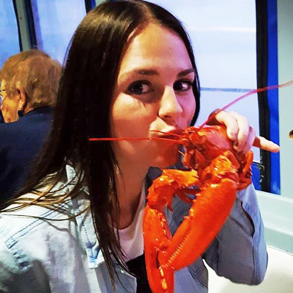 Dinner auf der Shediac Lobster Bootstour, Nova Scotia