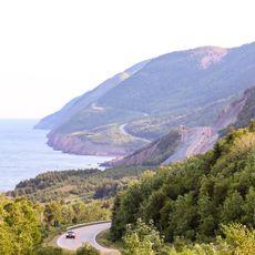 Der Cabot Trail in Nova Scotia