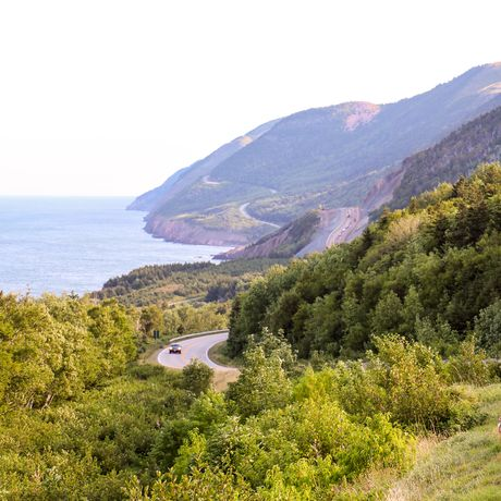 Der Cabot Trail in Nova Scotia