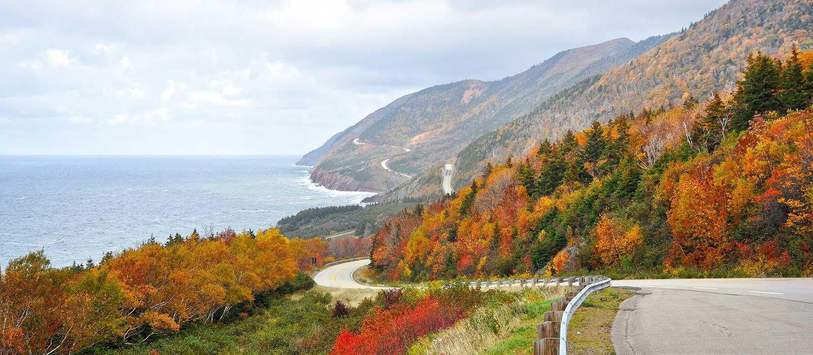 Der Cabot Trail im Herbst