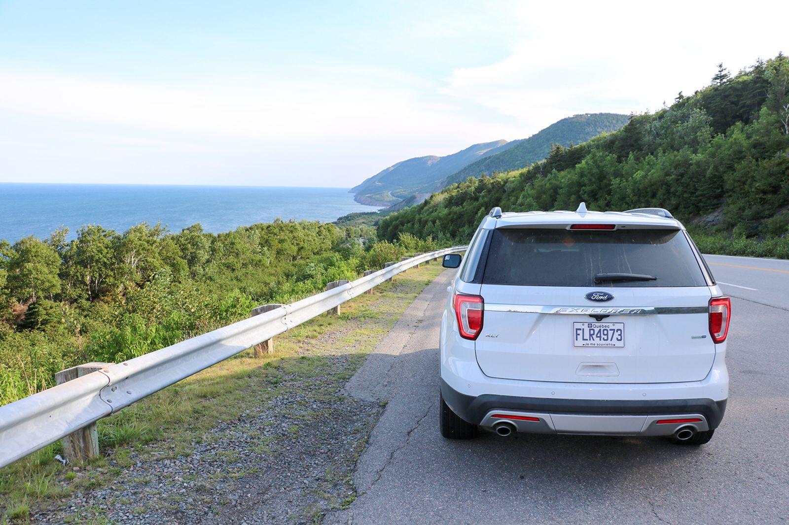 Aussichtspunkt am Cabot Trail