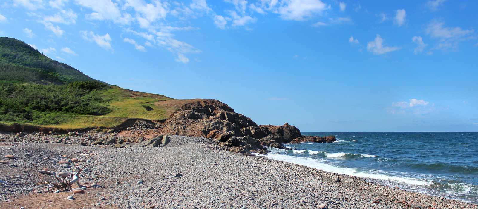 Strand im Cape Breton Highlands National Park