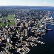 Blick auf den Hafen von Halifax
