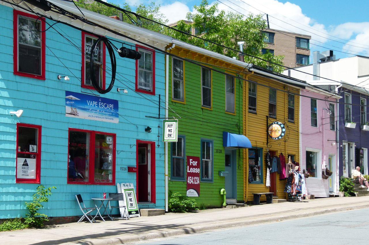 Doyle Street in Downtown Halifax
