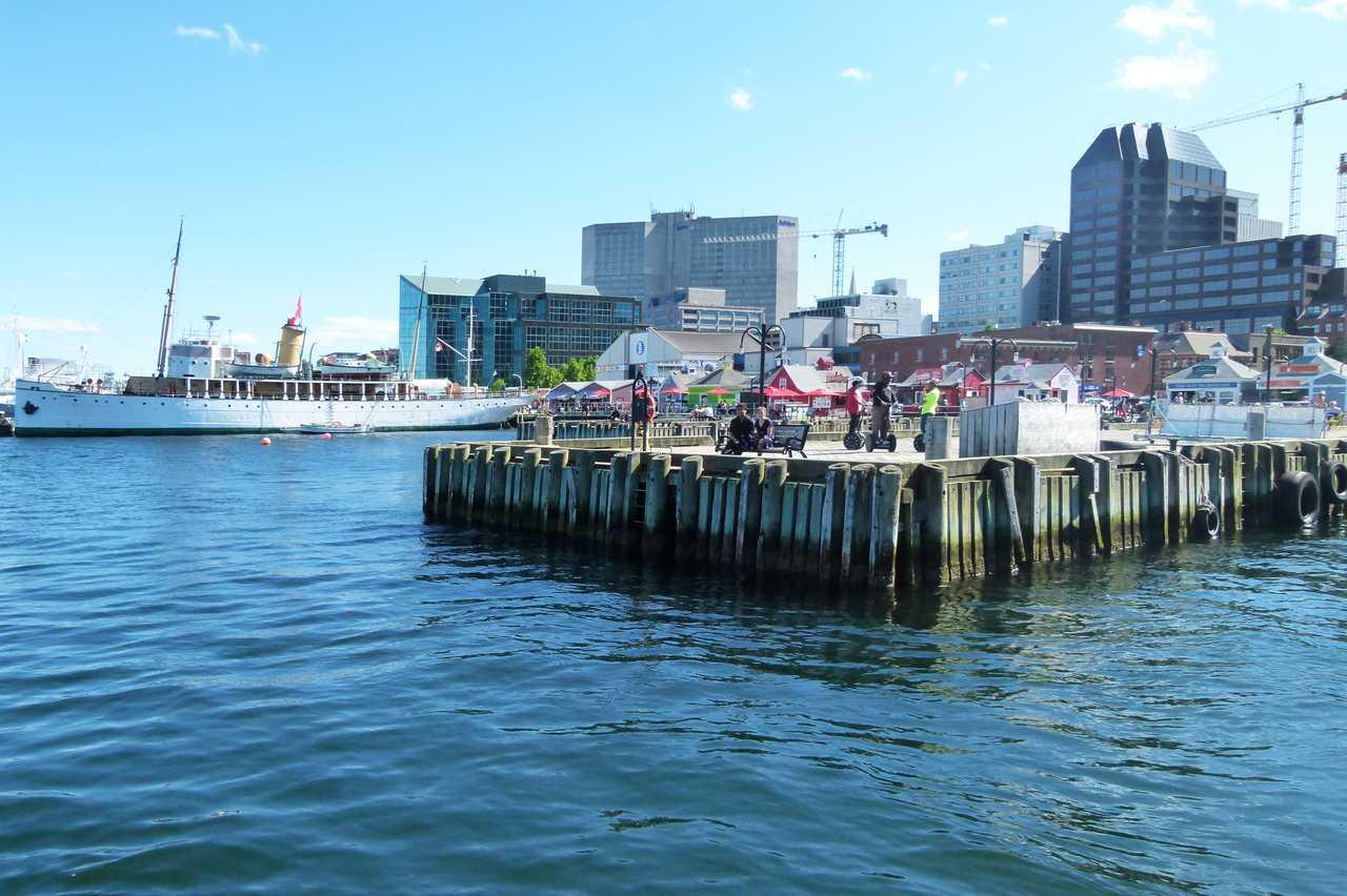 Pier in Halifax
