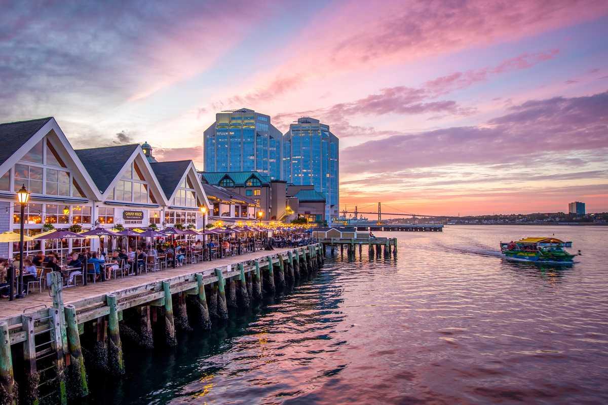 Der Hafen von Halifax