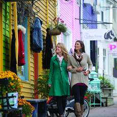 Shopping Tour in Downtown Halifax