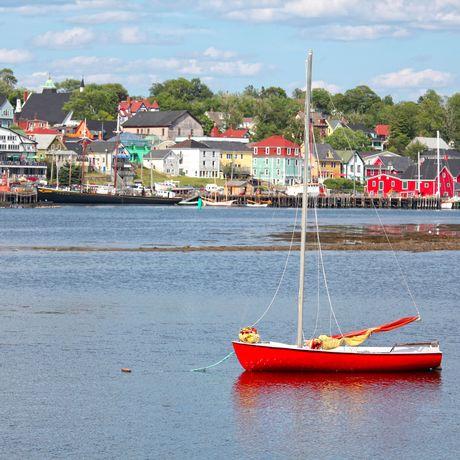 Hafen in Lunenburg, Nova Scotia