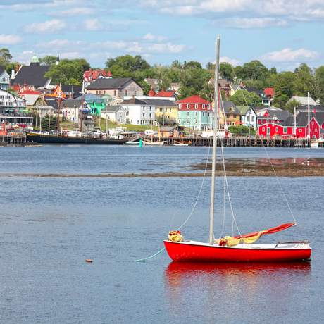 Hafen in Lunenburg, Nova Scotia