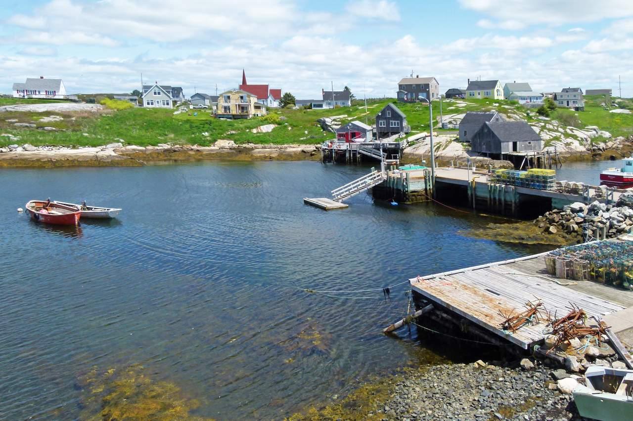 Häuser in Peggy's Cove