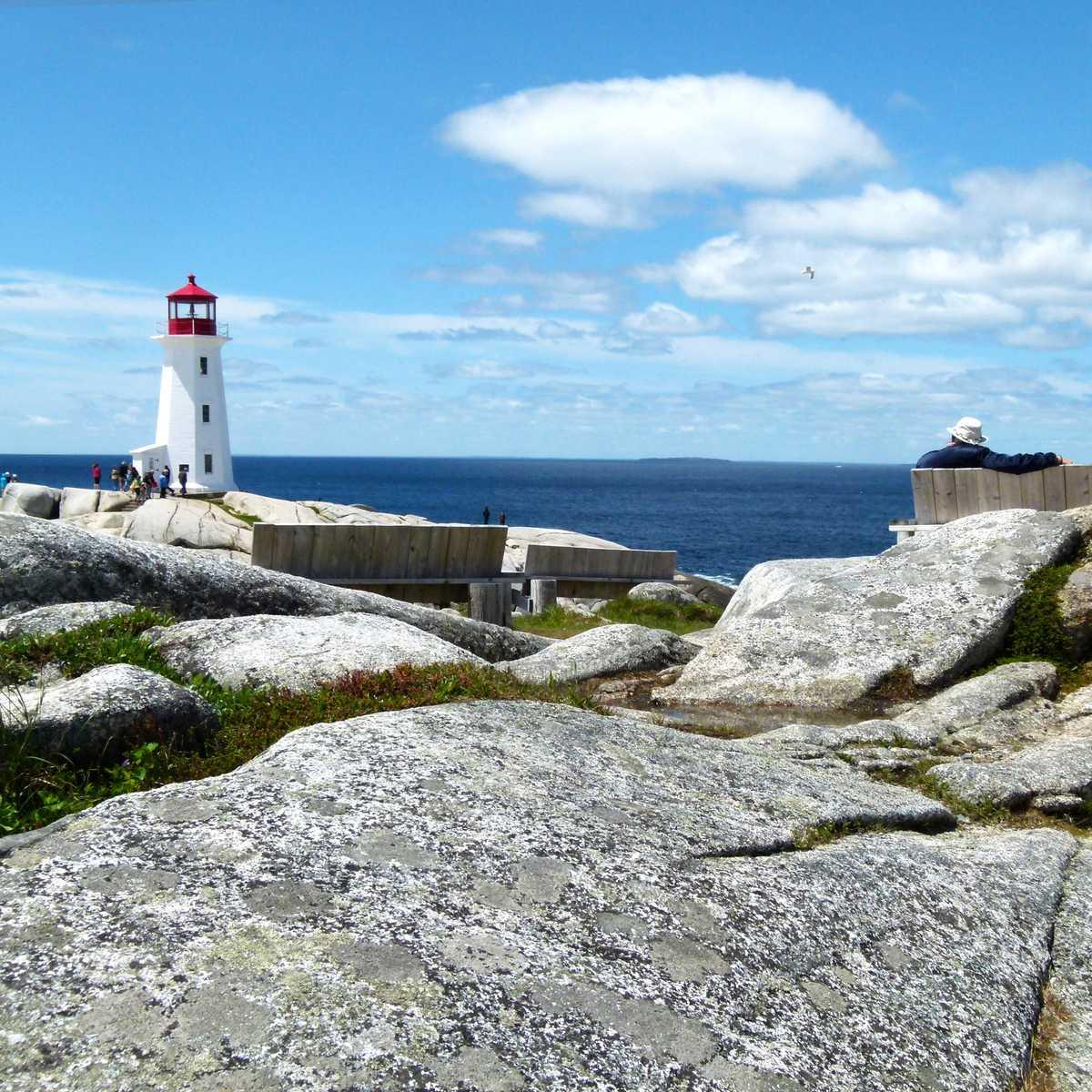 Leuchtturm in Peggys Cove