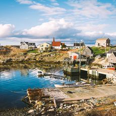 Peggy's Cove Village and Lighthouse