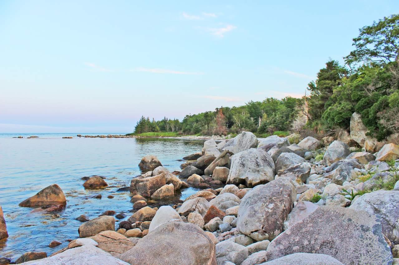 Strand im Thomas Raddall Provincial Park