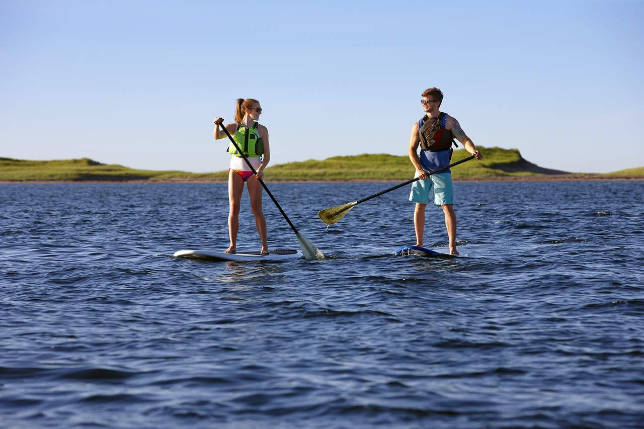Paddleboard-Ausflug