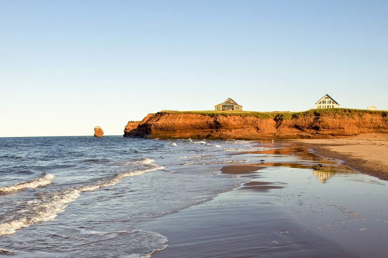 Küste der Prince Edward Island