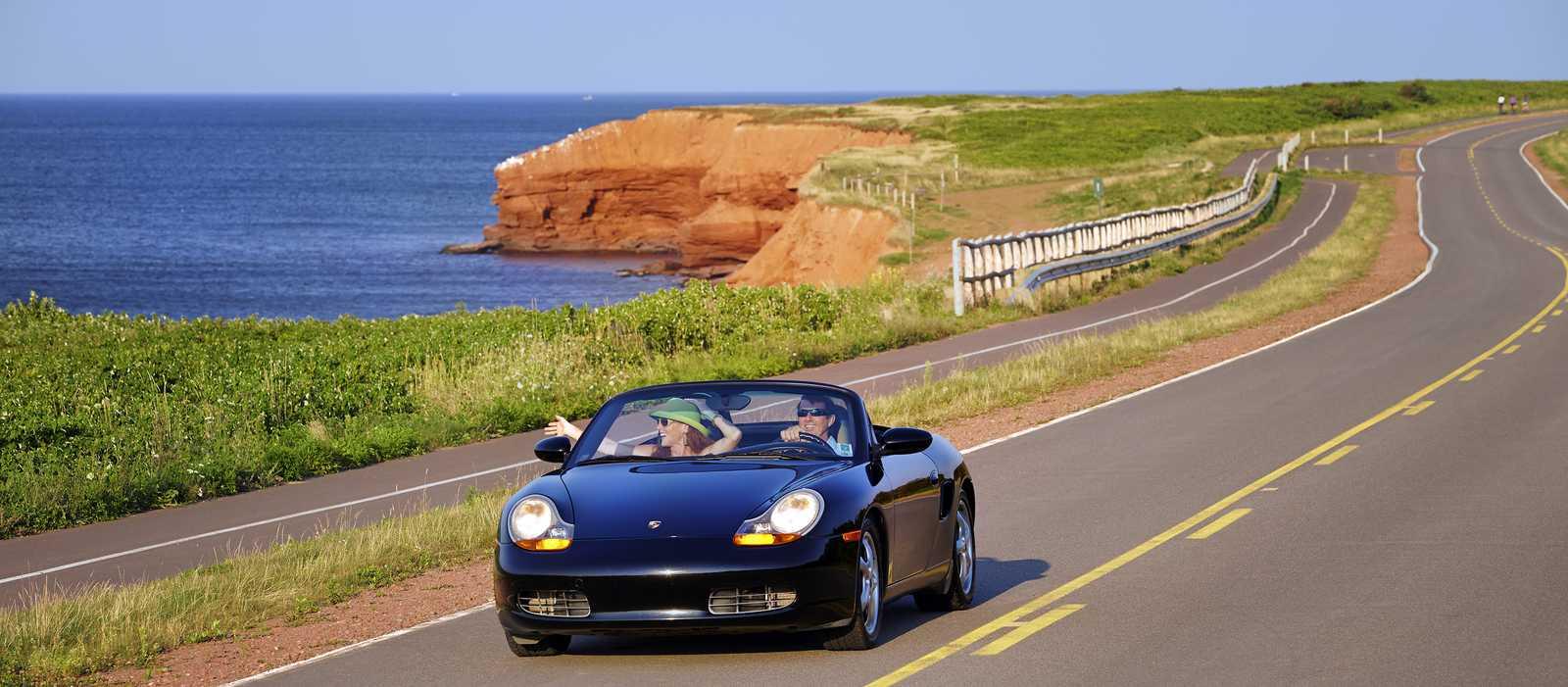 Mit dem Auto nach Prince Edward Island