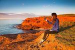Vor allem die roten Sandsteinklippen sind für die Region der Prince Edward Island bekannt