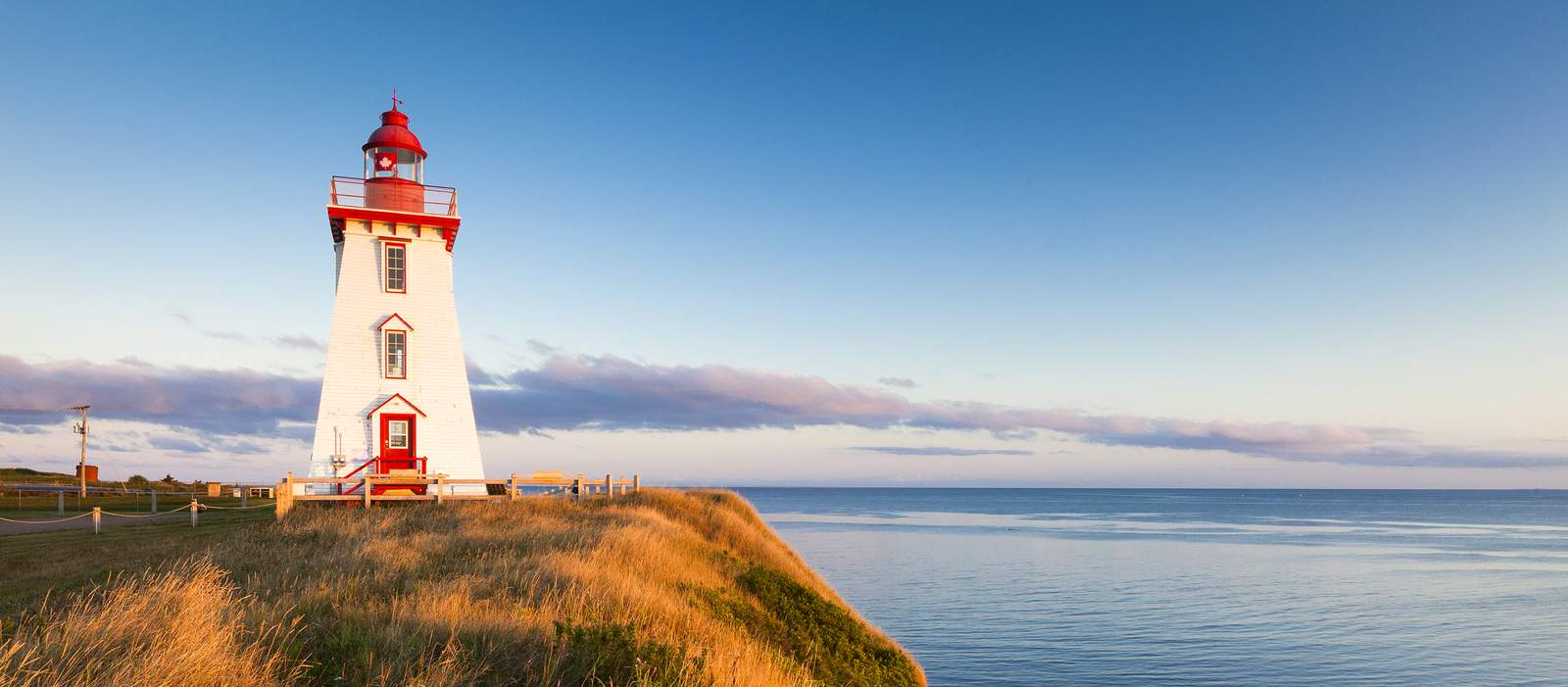 Souris Harbour Lighthouse