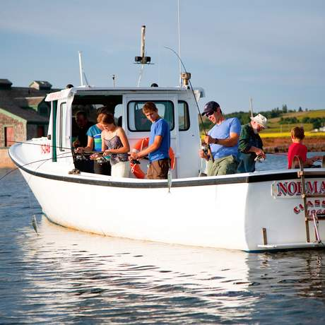 Fischerboot in Victoria