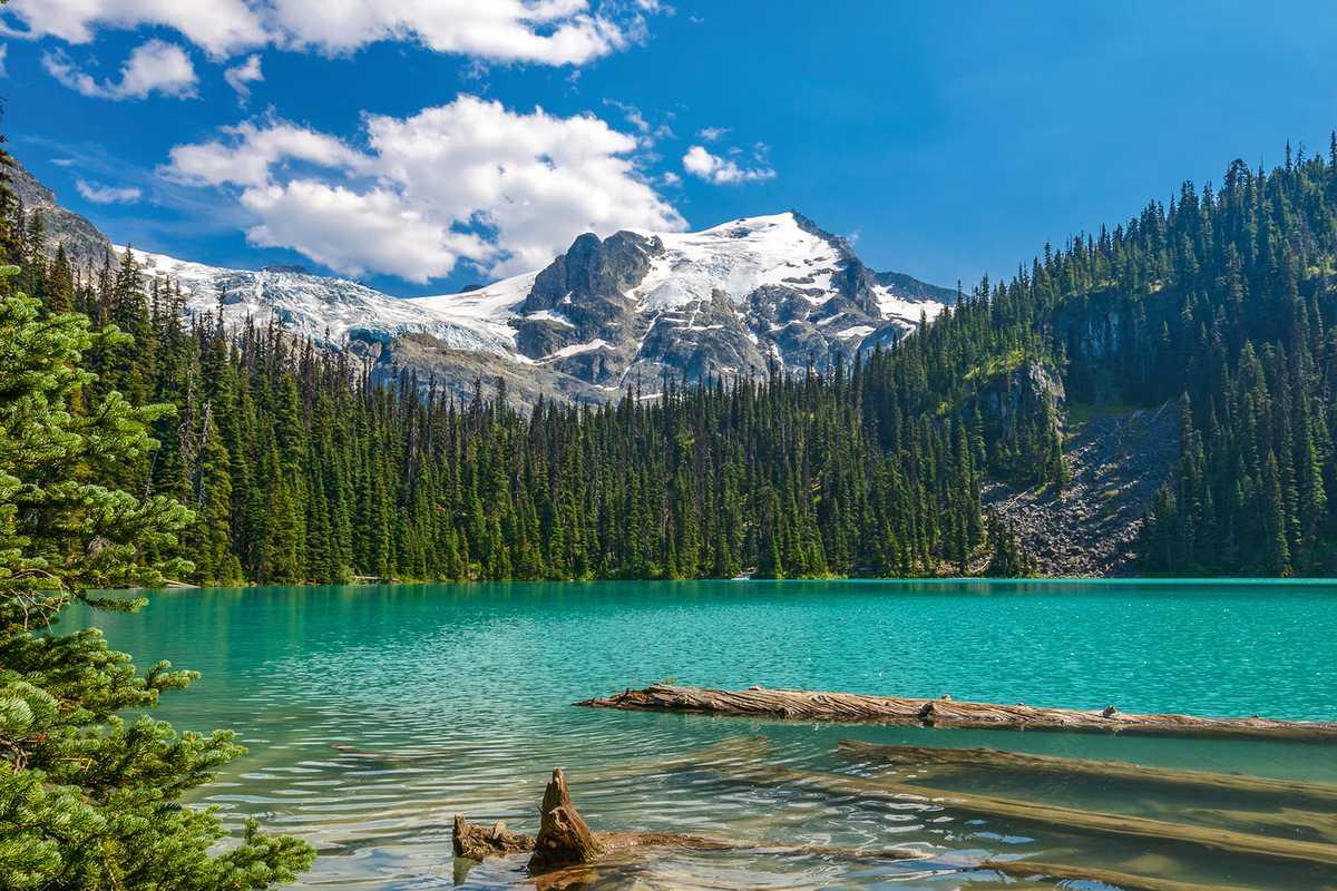 Der Upper Lake im Joffre Lakes Provincial Park
