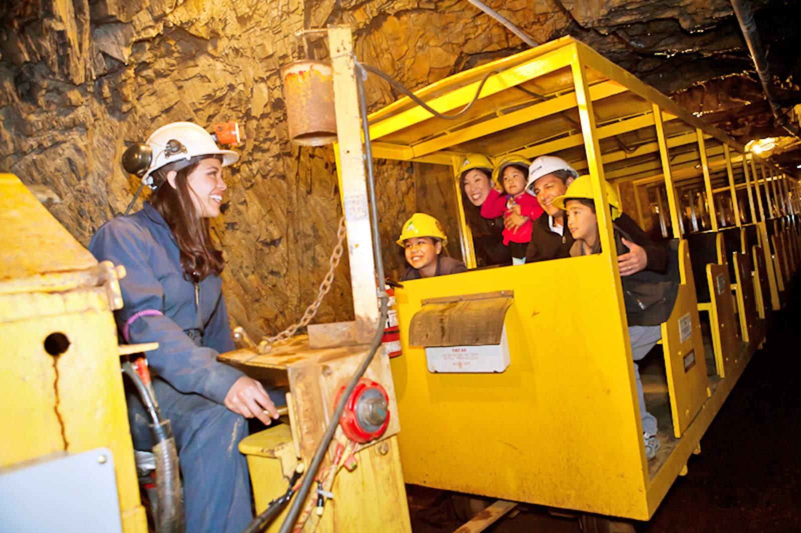 Im Britannia Mine Museum