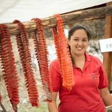 Content Campaign Aboriginal BC, Wind-drying Salmon