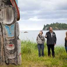 Content Campaign Aboriginal BC, Besuch im Heritage Centre