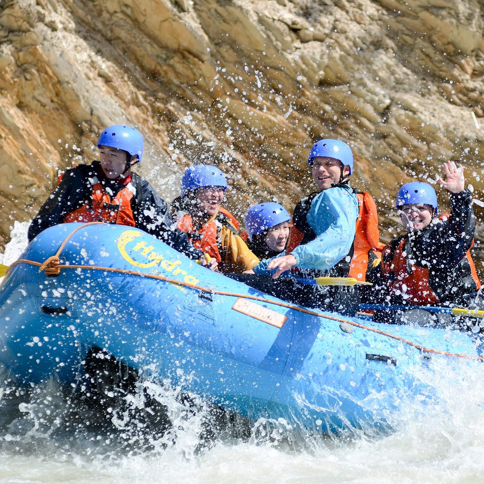 Rafting auf dem Kicking Horse River