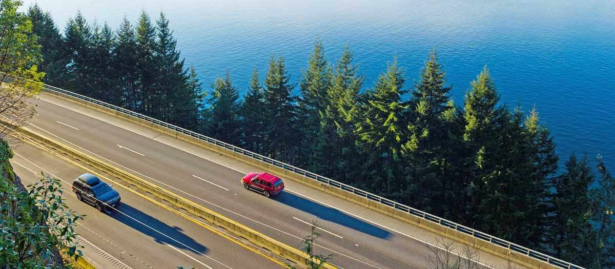 Unterwegs auf dem Sea-to-Sky Highway