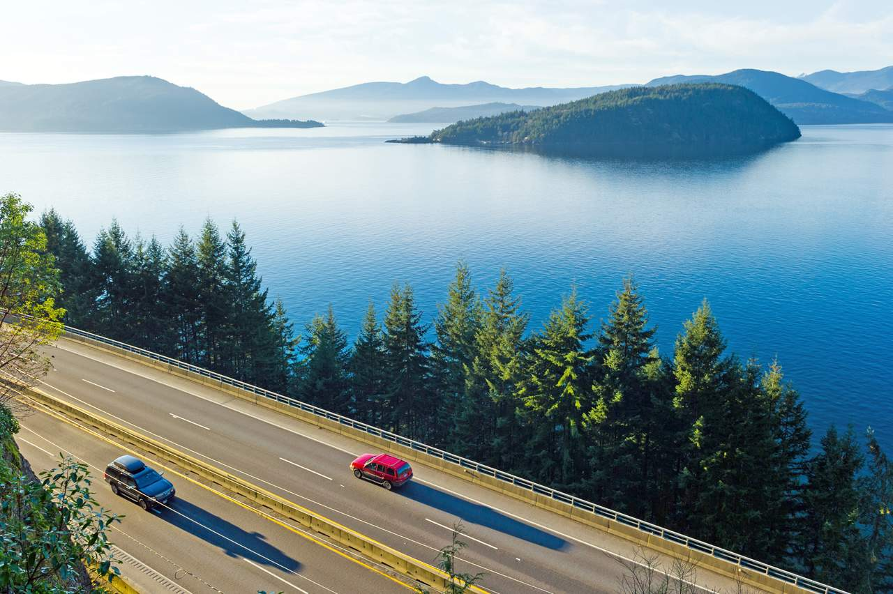 Unterwegs auf dem Sea-to-Sky Highway
