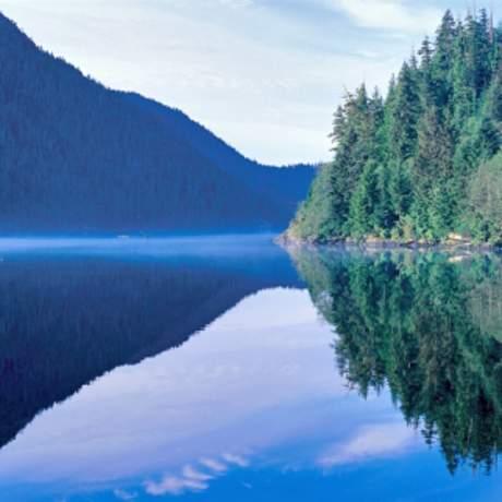 Traumhafte Landschaft in Britisch Columbia