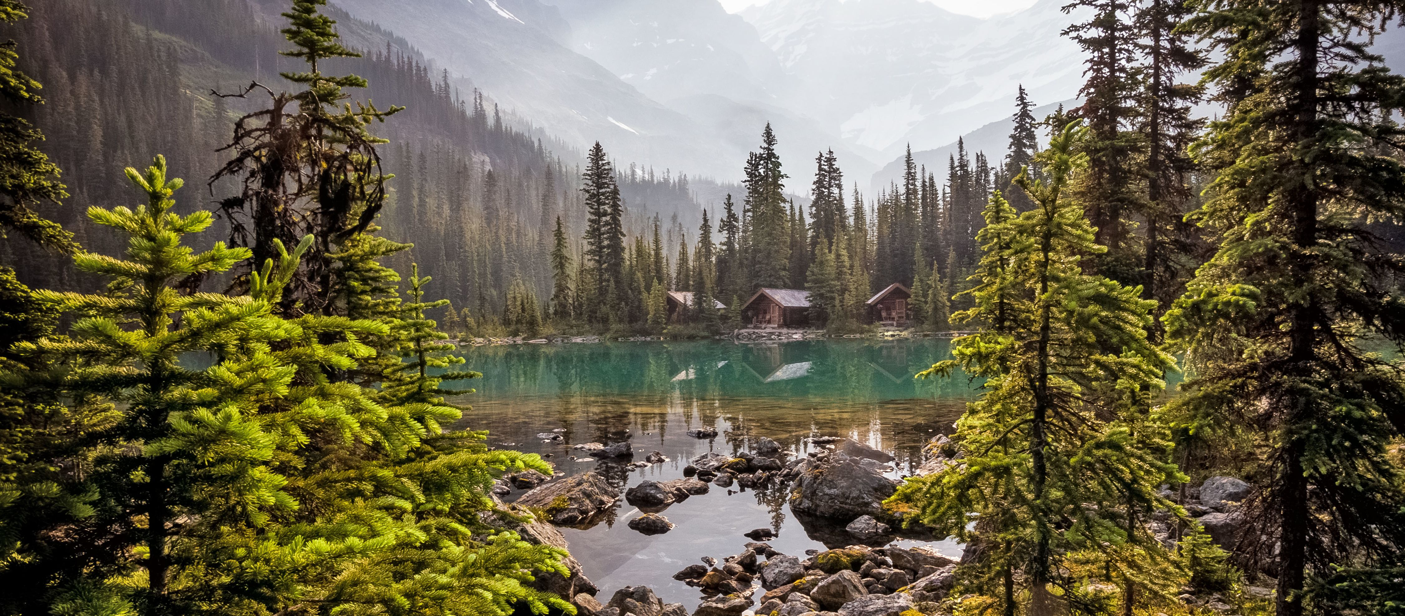 Lake O'Hara Mountains im Yoho National Park, British Columbia