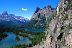 Der Lake O'Hara im Westen Kanadas