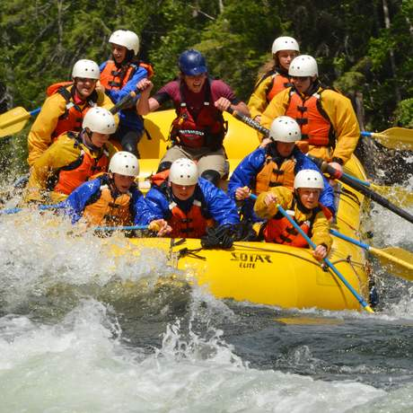 Impressionen Whitewater Rafting