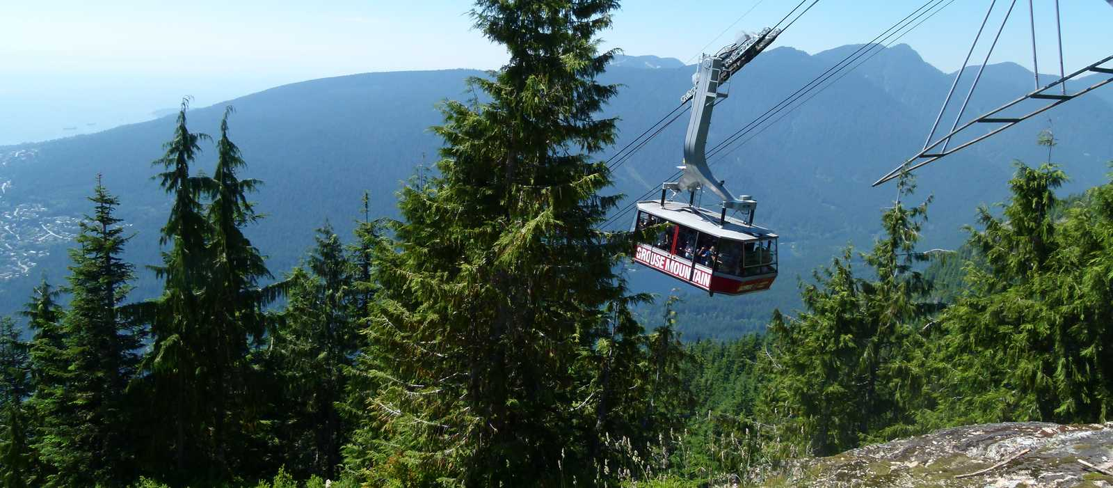 Grouse Mountain Gondel, North Vancouver