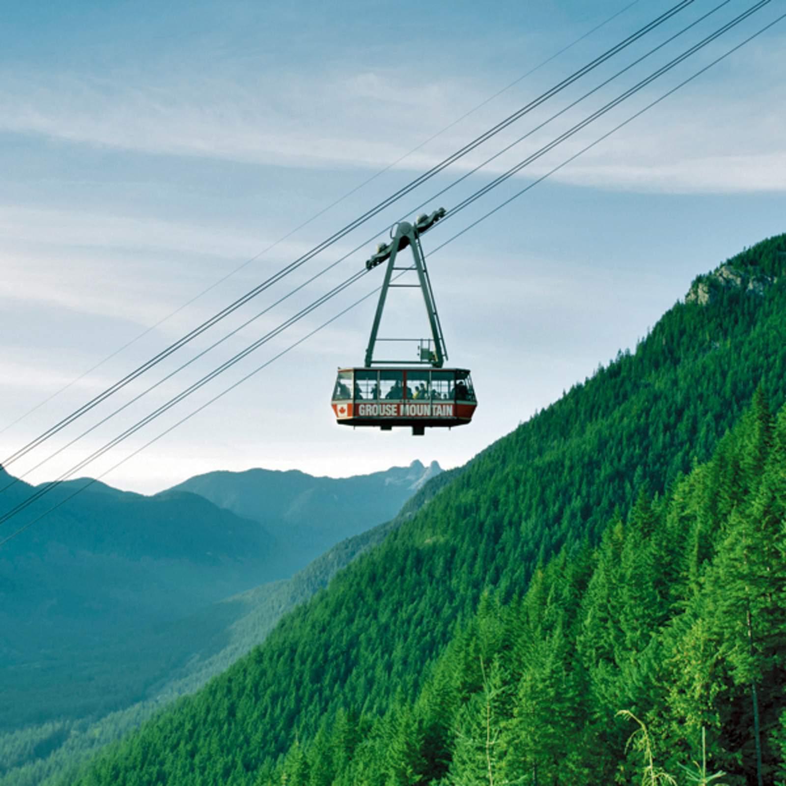 Seilbahn am Grouse Mountain