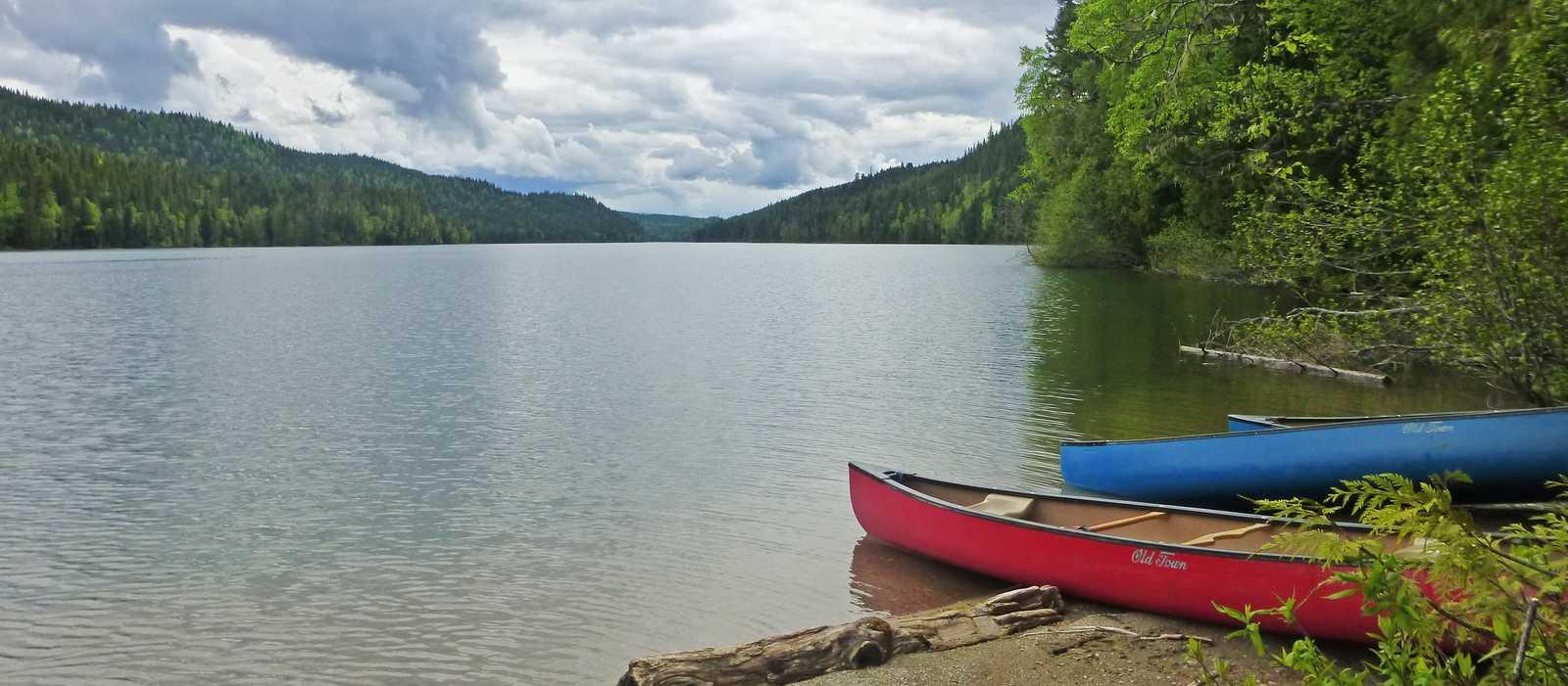 Blick auf den Clearwater Lake