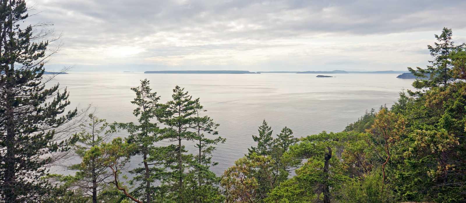 Lund und Hurtado Point Aussicht