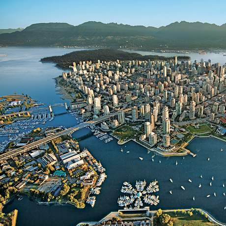 Blick ueber Vancouver