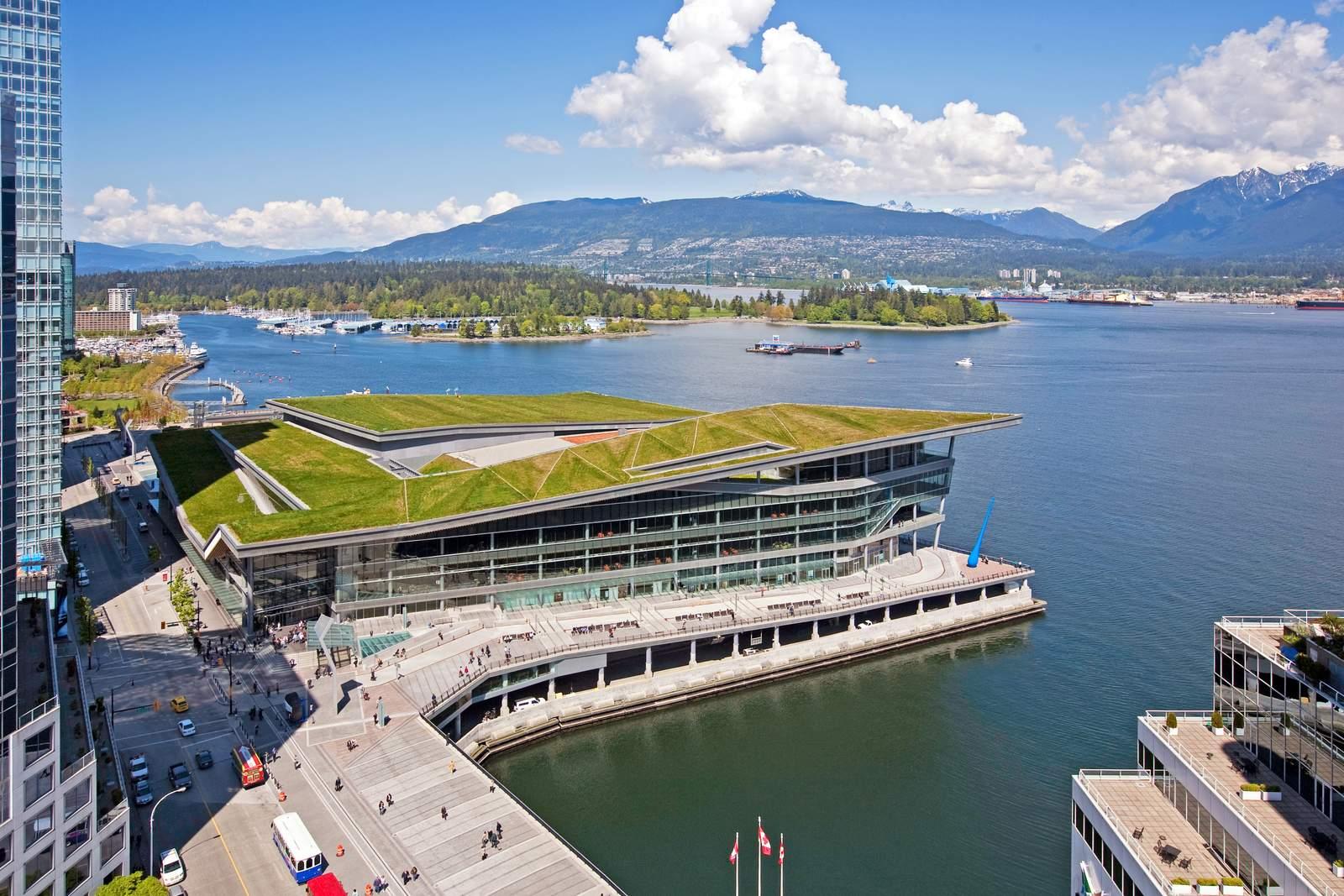 Canada Place vom Fairmont Waterfront aus gesehen